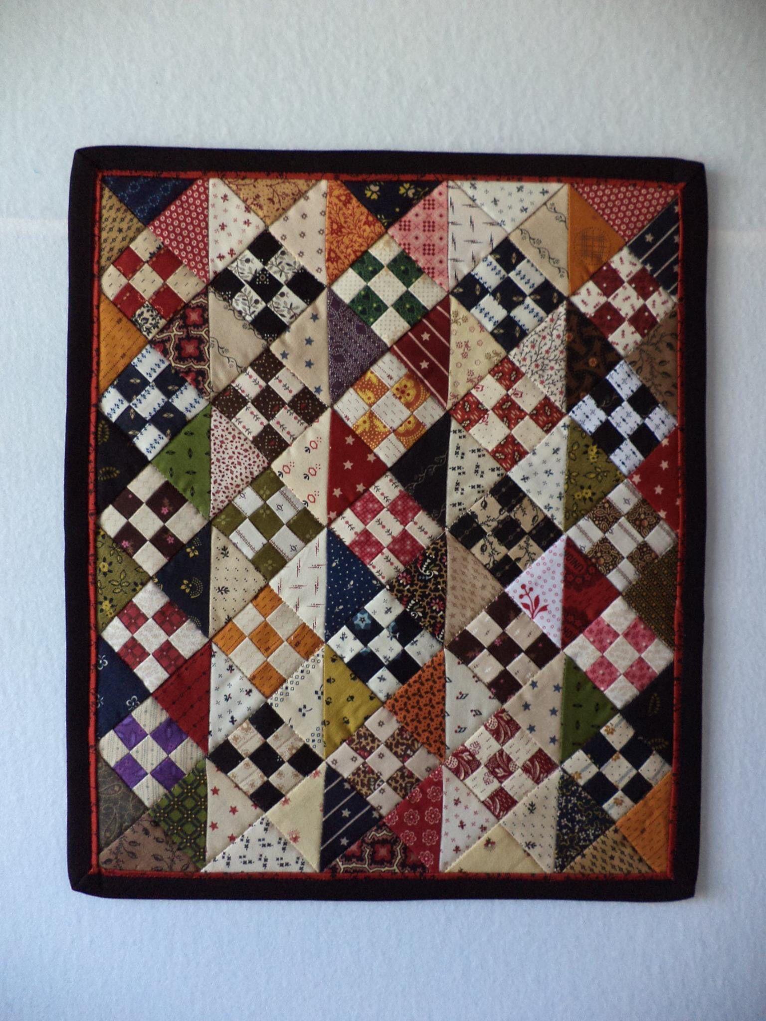 Exchange Idea Mini Quilt Patterns Quilts Small Quilt