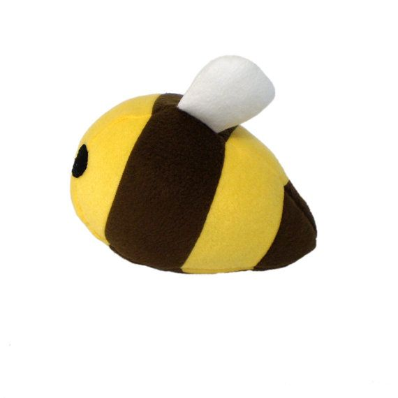 Sewing Pattern Plush Bumble Bee Stuffed Animal By Chebetoshop Baby