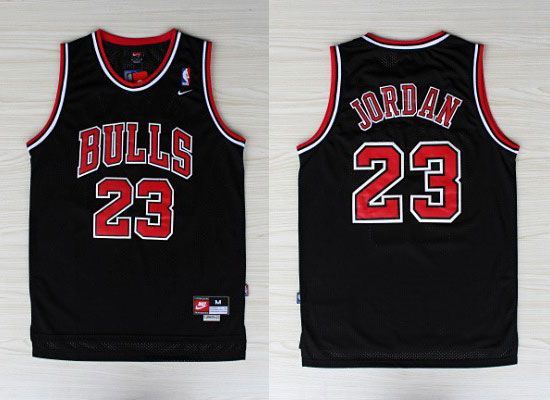9cea74b517d Nike NBA Chicago Bulls 23 Michael Jordan New Revolution 30 Black Jersey
