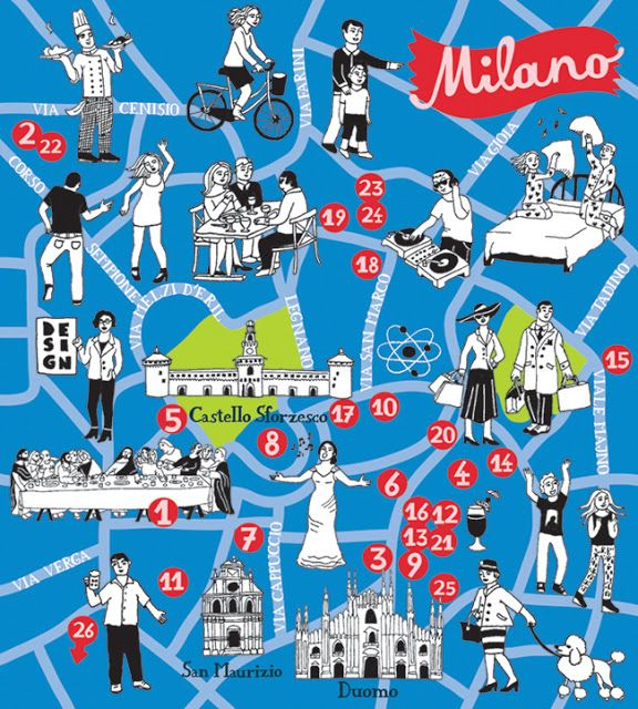 Illustrated maps by bianca tschaikner milano fo illustrated maps by bianca tschaikner milano gumiabroncs Image collections