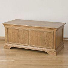 Loire Oak Bedroom Furniture Blanket Box 200 Oak Bedroom Furniture Box Bed Blanket Box