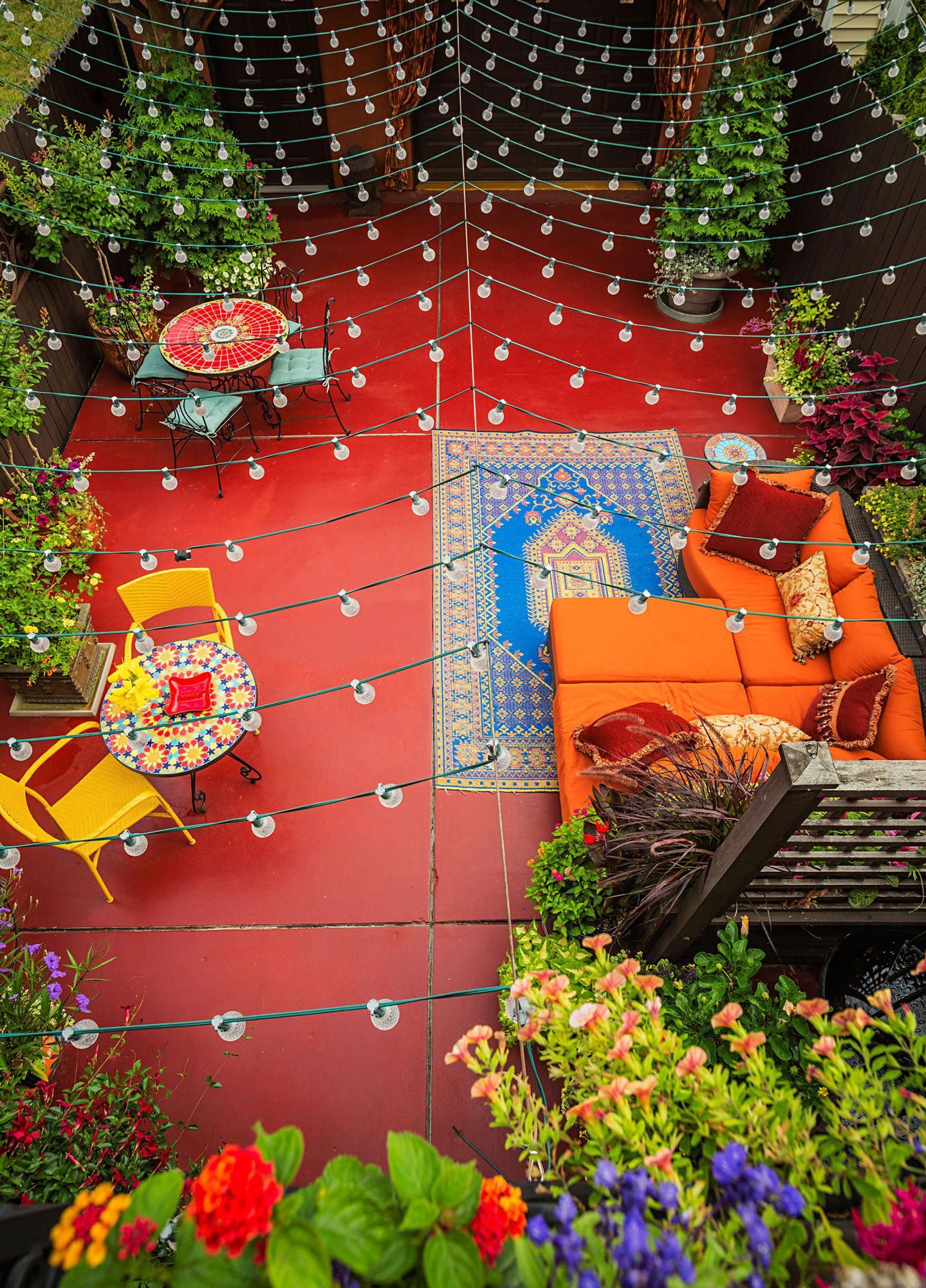 Carpet Runners Northern Ireland Colorful patio, Outdoor