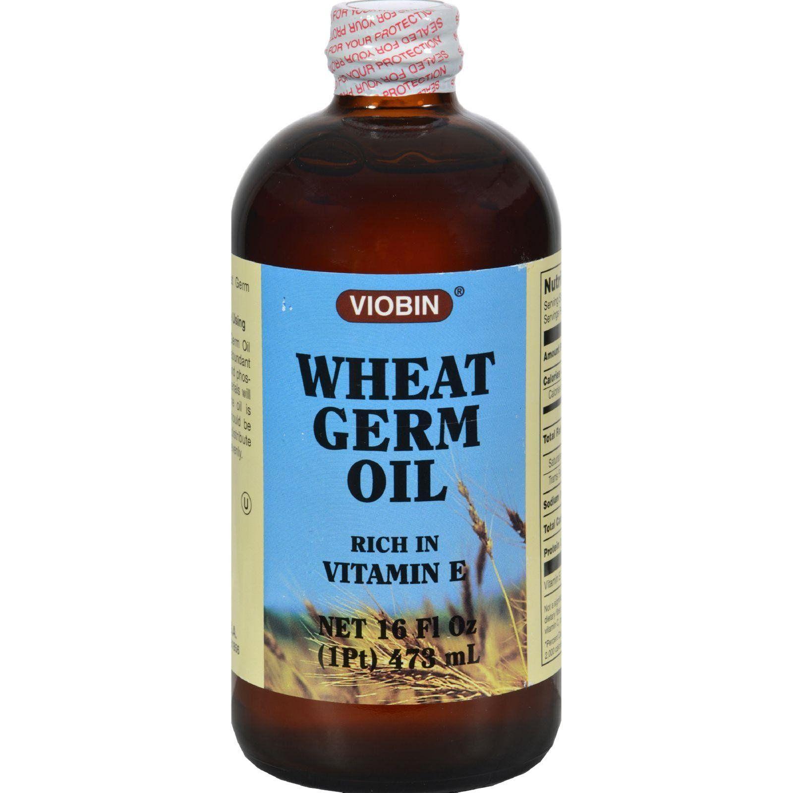 Viobin wheat germ oil liquid rich in vitamin e fl oz health