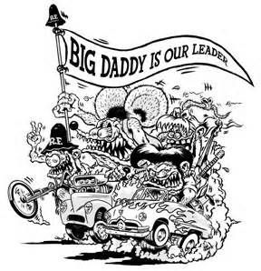 Fink Rat Rod Coloring Pages Ed Roth Art Coloring Books