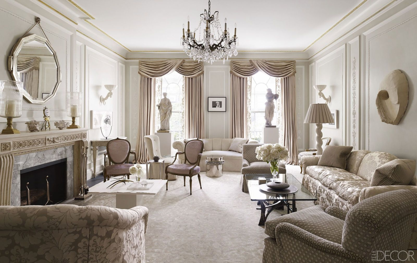 Home interior design drawing room  white room ideas that are anything but dull  luxury interior