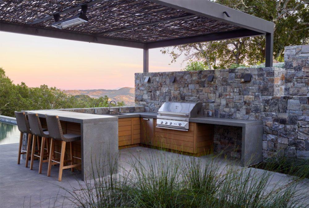 Summer Kitchen Design Ideas (50 Pictures) | Outdoor kitchen ...