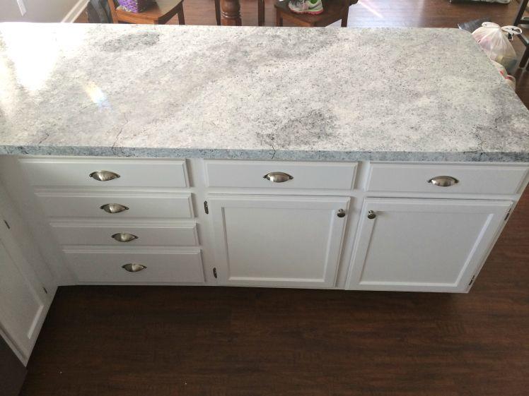 Countertop Redo With Giani Granite Countertop Paint Faux Granite