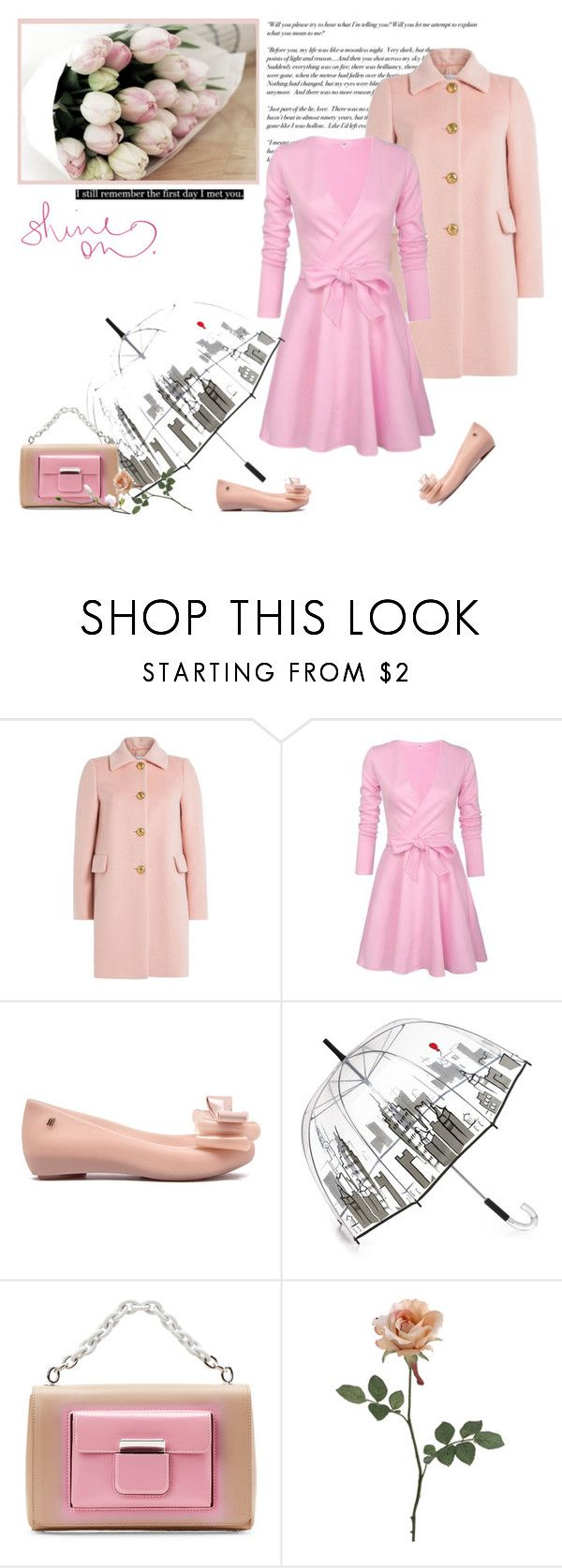 """Spring Time"" by minni ❤ liked on Polyvore featuring Cullen, RED Valentino, Felix Rey and Balenciaga"