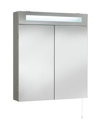 buy the stainless steel bathroom mirror tucson double cabinet with light from home of ultra or