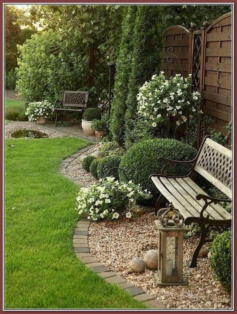 Ideas For Backyard Landscaping On A Budget Find Further At The Image In 2020 Backyard Landscape Architecture Front Yard Landscaping Design Rock Garden Landscaping