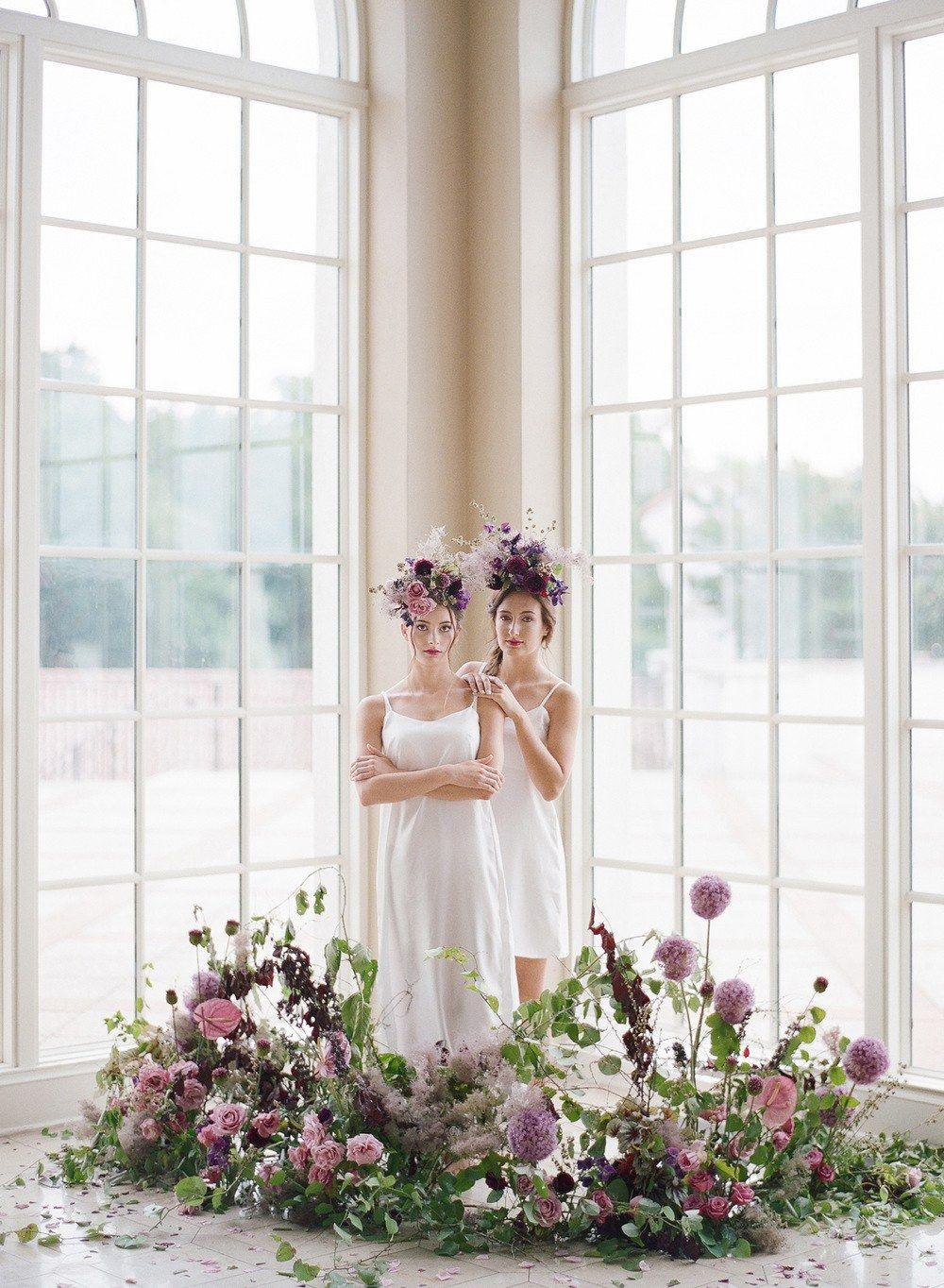 Feminine french bridal fashion shoot wedding inspiration