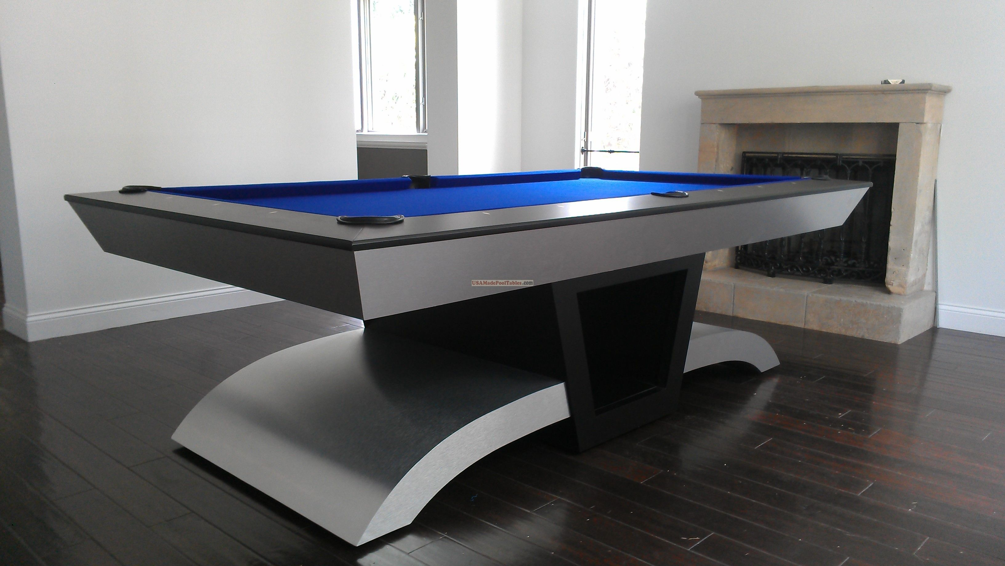 Pin By Helen Ladon On Awesome Stupid Ideas Modern Pool Table Pool Tables For Sale Modern Pools