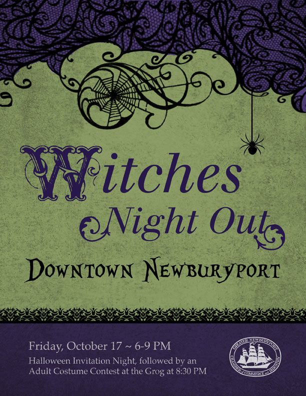Newburyport witches night out a halloween invitation night with newburyport witches night out a halloween invitation night with shopping and refreshments followed stopboris Gallery