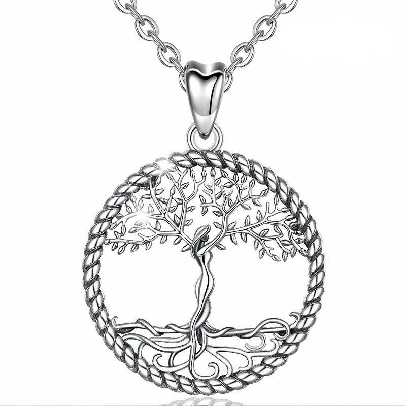 Symbole chinois pour le bonheur Silver Charm pour Bracelet ou la conception de bijoux