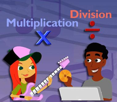 Multiplication and Division: 9 StudyJams! Interactive Math Activities