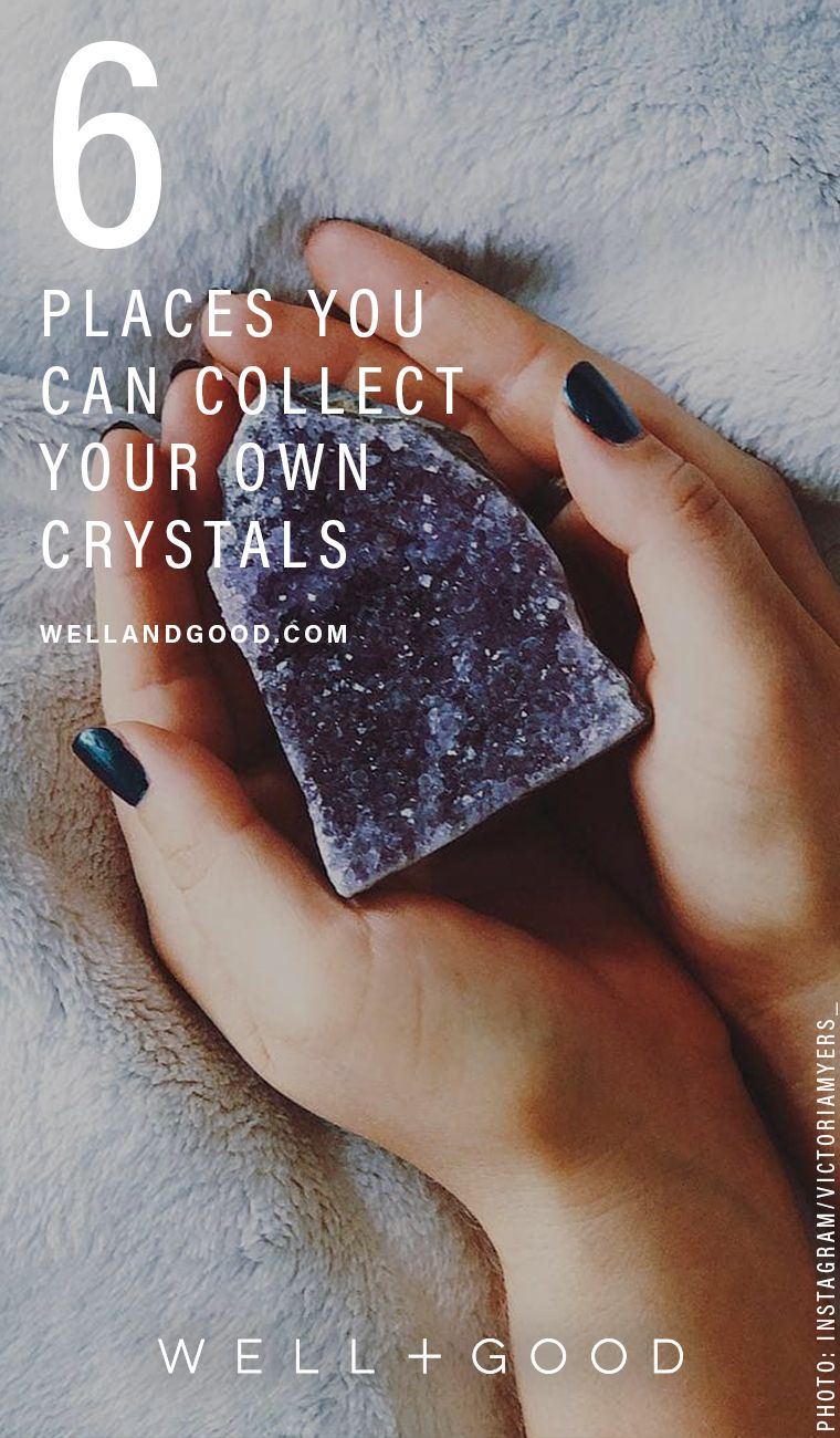 Where to dig for your own crystals | Wellness | Reiki