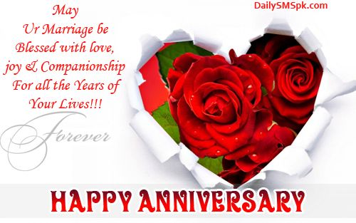 Happy anniversary wishes roses flowers