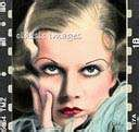 Jean Harlow In Color