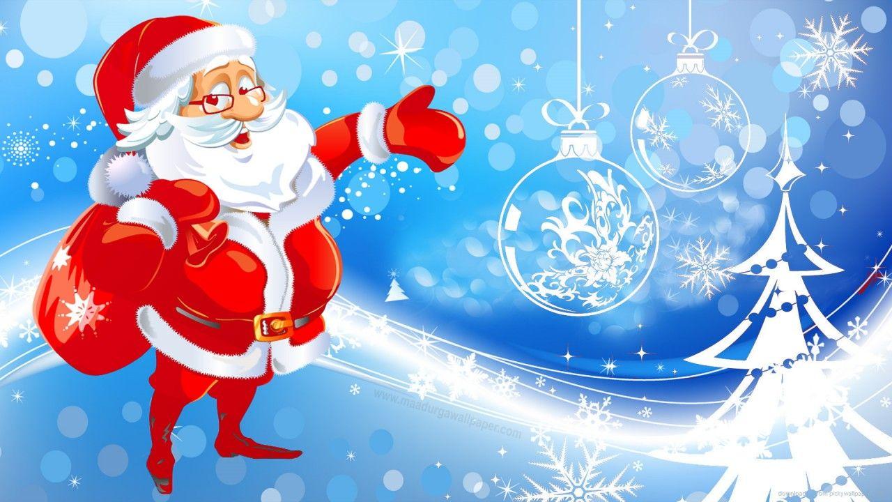 HD Christmas Santa Claus wallpaper download free