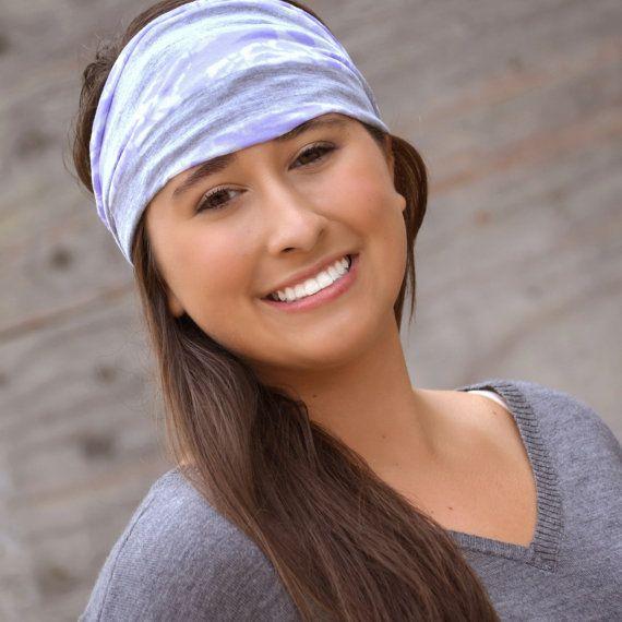 a0b623fcc Lavender Headband Alopecia Headband Extra Wide Headband by ...