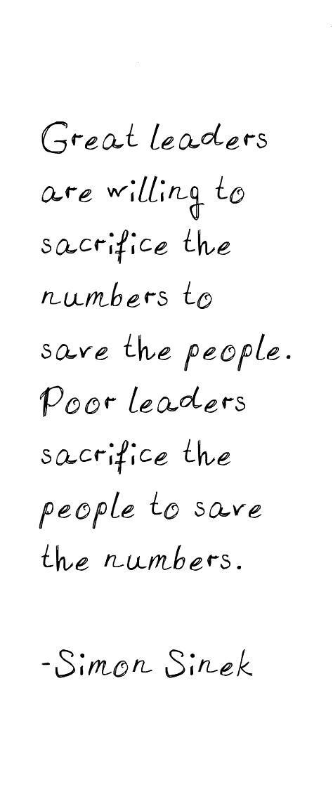 Leadership quote simon sinek quotes Google Search