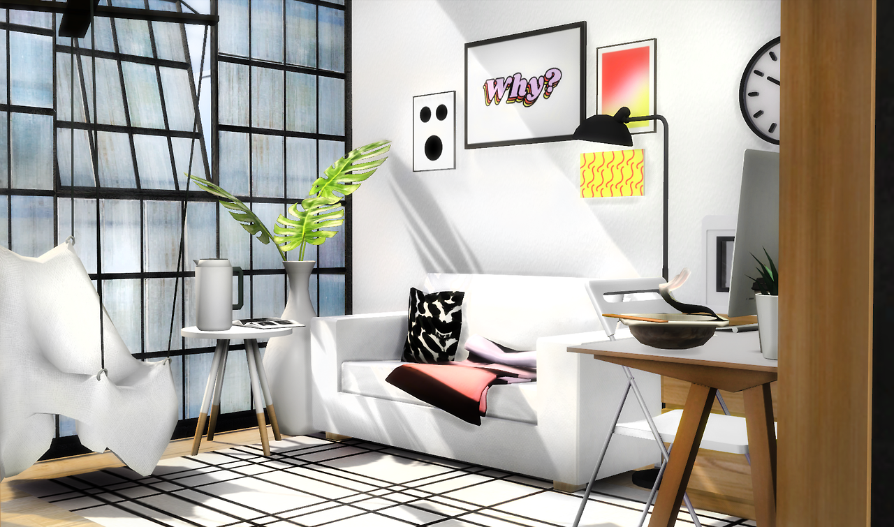 Compact Living Room Set by Slox for The Sims 4 | The Sims 4 ...