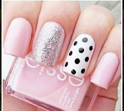 Cute Tumblr Unas De Gel Manicura De Unas Unas Decoradas Sencillas