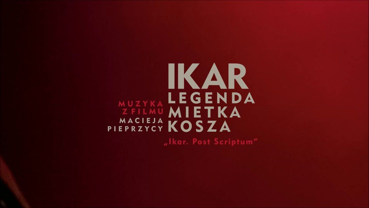 Leszek Mozdzer Ikar Post Scriptum Muzyka Do Filmu Ikar Legenda Mietka Kosza Youtube In 2020 Muzyka Youtube Orkiestra