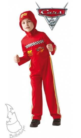 Disfraz de Mcqueen Cars 2 de Disney