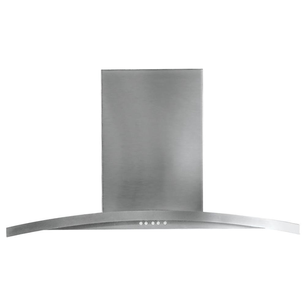 Ge Profile 30 In Designer Range Hood In Stainless Steel Pv970nss The Home Depot In 2020 Range Hood Stainless Range Hood Wall Mount Range Hood