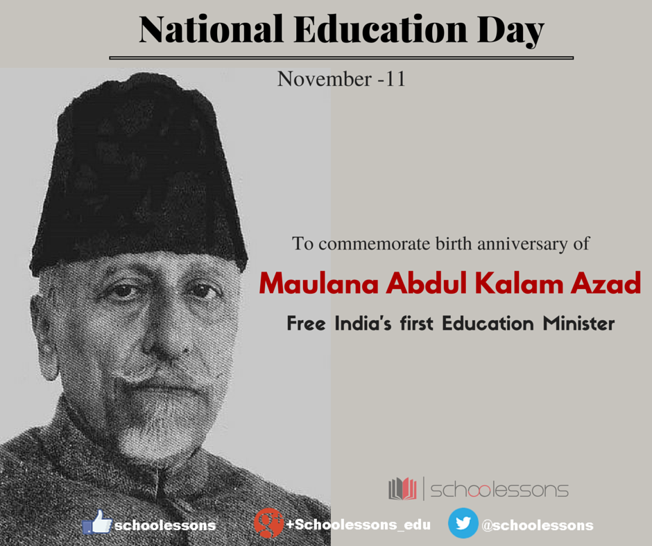 National Education Day (India) An Annual Observance In