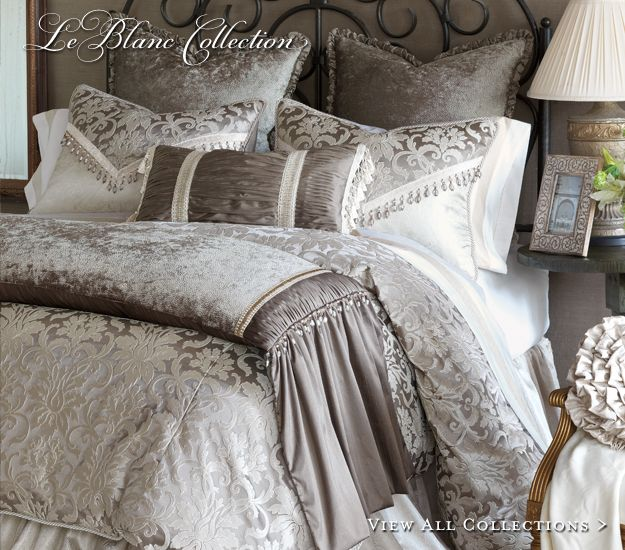 Luxurious Bed Linens Part - 18: Marquise Luxury Bedding By Eastern Accents