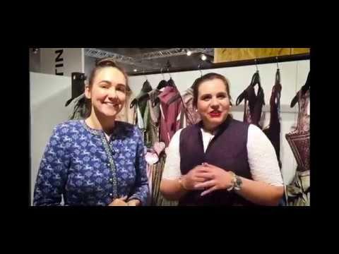 Dirndl-Trends 2017: Julia Trentinis romantische Trachtenkleider - YouTube