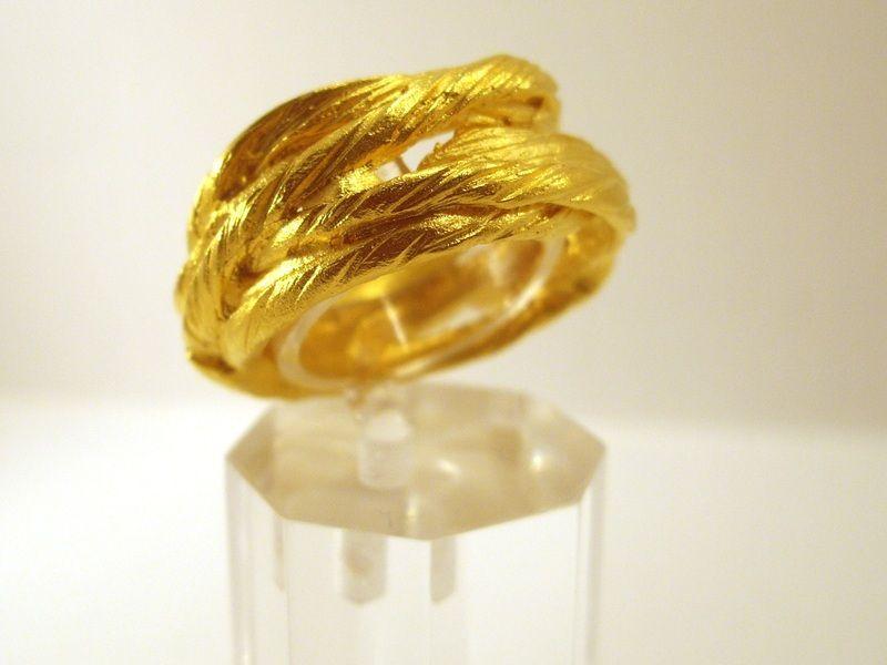 """Ring """"Tauwerk"""" von Susanne Krings Schmuck & Design auf DaWanda.com"""