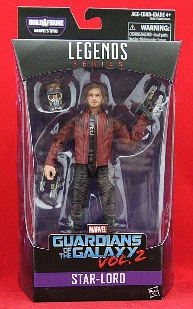 Marvel Legends Guardians of the Galaxy Build a Figure Marvel/'s Titus Star-Lord