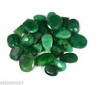 Natural Mix Cut Emerald /& Amethyst Loose Gemstone Wholesale Lot 100-1000 Ct.