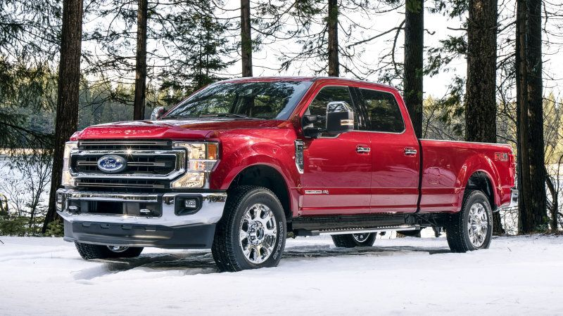2020 Ford F Series Super Duty Adds New Engine New Styling With