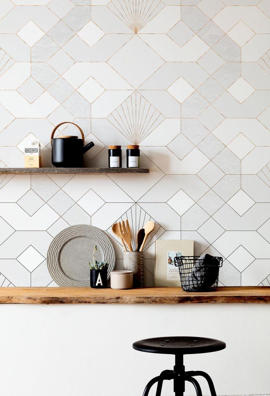 Diese Tapete peppt jede Küche auf! Hier entlang für mehr Tapeten