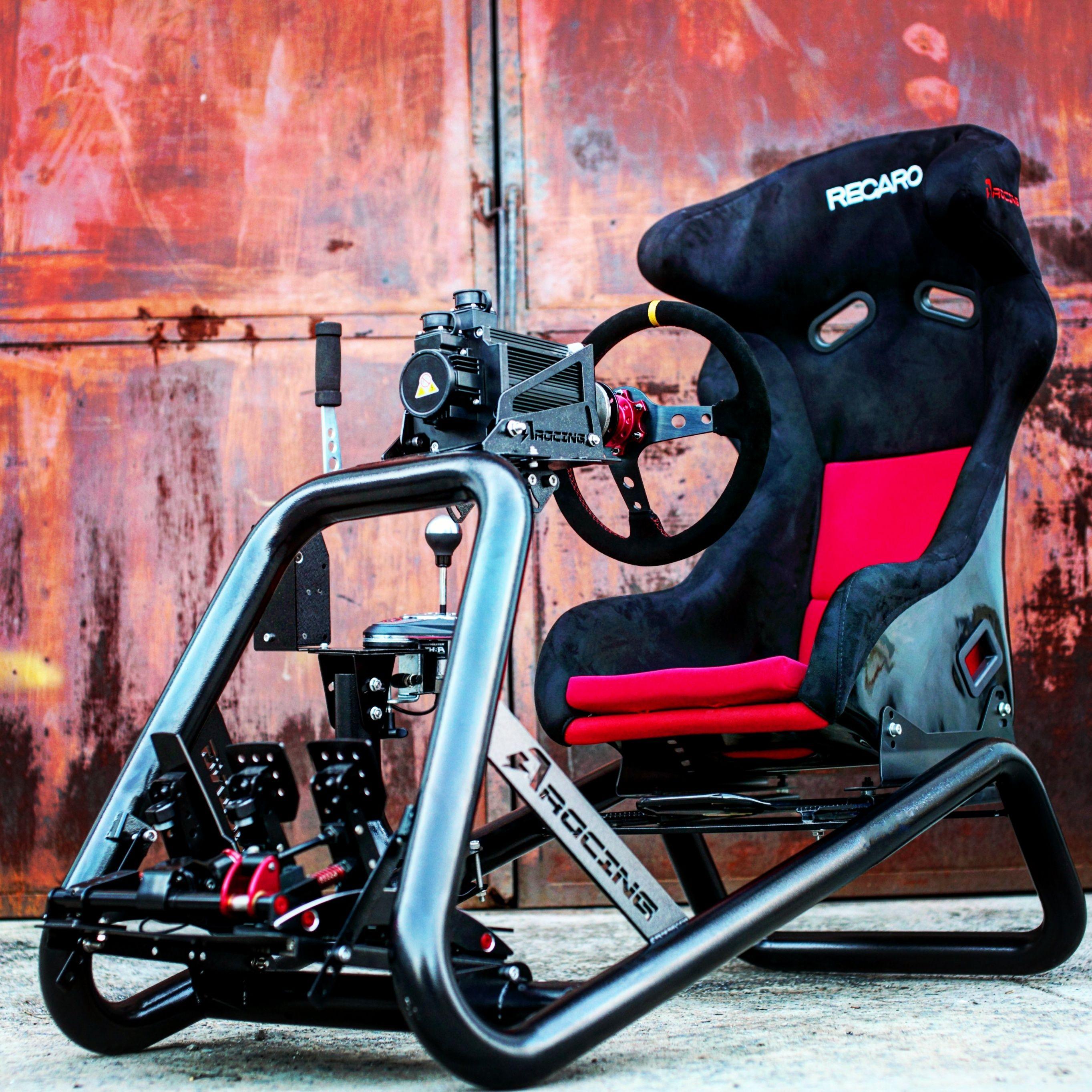 Azracing analog racing steering wheel bracket seat Fanatec