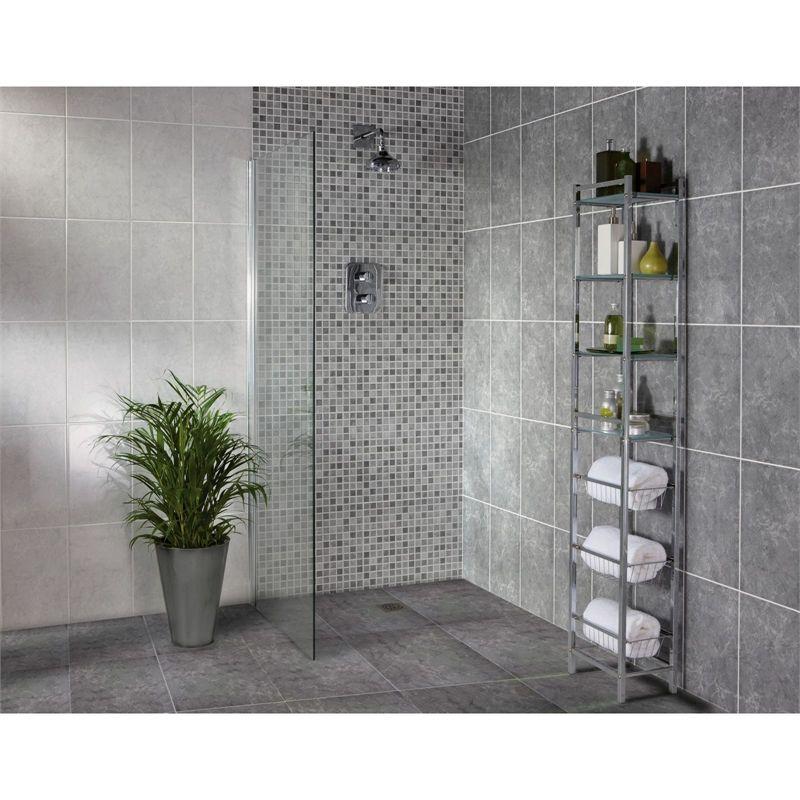 find sorrento dark grey ceramic wall tile 10 pack at homebase visit
