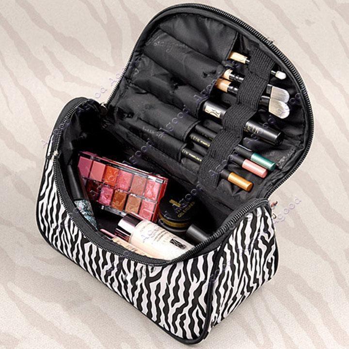 2015 New fashion women lady Cosmetic Nail Art Tool Bag Makeup Case ...