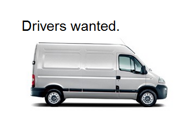 Van Drivers Wanted Driving Jobs Driver Job Van