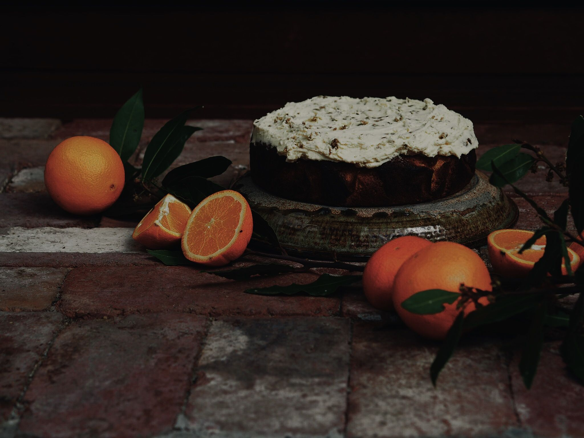 This cake is actually so wonderful and easy, it's a little ridiculous! The  level of bitterness does depend on the oranges you use! I used navel for  this cake, which bring a subtle bitter undertone, nothing too offensive!  You can experiment with different citrus, such as blood oranges, sevilles