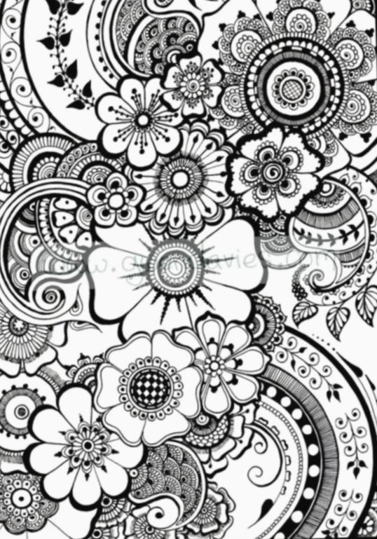 Drawing Flowers Doodles Colour Drawing Drawings Draw In 2020