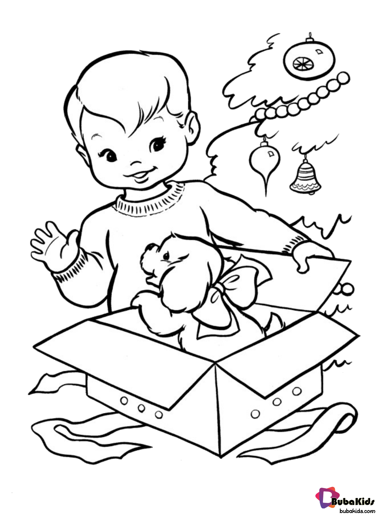 Christmas Gift Coloring Page Collection Of Cartoon Coloring Pages For Christmas Present Coloring Pages Kids Printable Coloring Pages Christmas Coloring Books