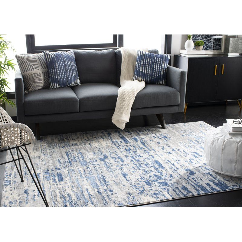 Muro Ivory Blue Rug Grey Couch Living Room Rugs In Living Room Dark Grey Couch Living Room