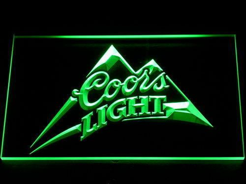 Coors light beer bar pub led neon sign with onoff switch 7 colors coors light beer bar pub led neon sign with onoff switch 7 colors to mozeypictures Gallery