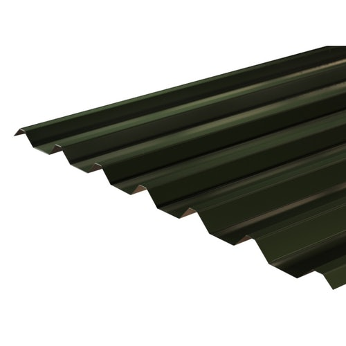 Cladco 34 1000 Box Profile Polyester Paint Coated 0 7mm Metal Roof Sheet Juniper Green 2500mm Roofing Superstore In 2020 Metal Roof Sheet Metal Roofing Roofing