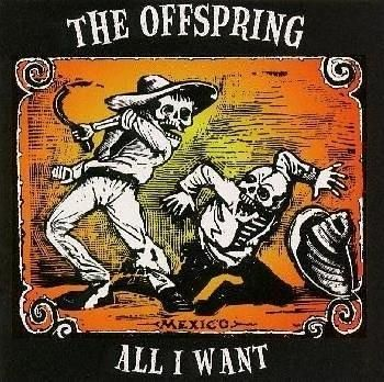 All I Want The Offspring Song Music Illustration Band Posters Album Cover Art