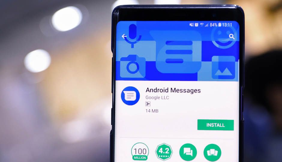 Google Android Messages updated with improved search